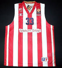 Red star Belgrade 2015-2016 home jersey