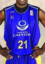 Grupo Capitol Valladolid 2006-07 home jersey
