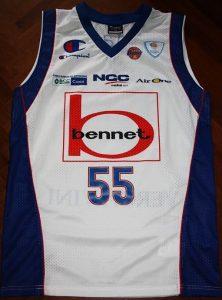 Pallacanestro Bennet Cantú 2011 – 2012 Home kit