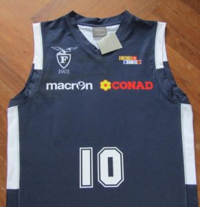 Fortitudo Bologna 2012 – 2013 Home kit Biancoblù Basket