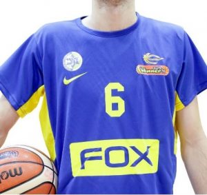 Maccabi Tel Aviv 2018 – 2019 Home kit warmup shirt