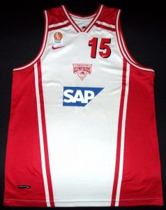 Olympiacos B.C. 2000 – 2001 Away kit
