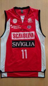 Victoria Libertas Pesaro 2010 – 2011 away jersey Scavolini