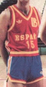 Spain 1986 – 1987 Home kit Eurobasket 87