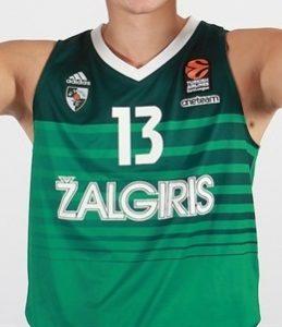 Žalgiris Kaunas 2017 – 2018 Home kit