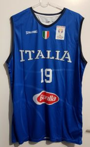 Italy 2016 – 2017 Home kit Eurobasket