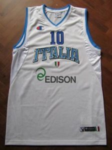 Italy 2012 – 2013 Home kit Eurobasket