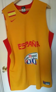 Spain 2012 – 2013 Eurobasket away kit