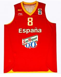 Spain Eurobasket 2011 Home kit