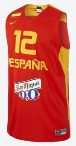 Spain 2012 – 2013 Home kit eurobasket 2013