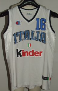 Italy 2005 – 2006 Home kit FIBA World Cup 2006