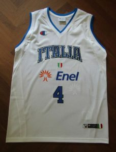 Italy 2006 – 2007 Home kit Eurobasket