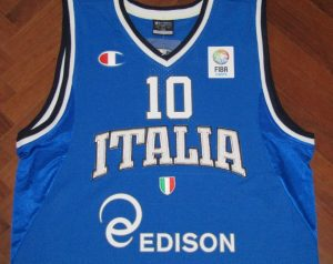 Italy 2012 – 2013 Home kit Eurobasket 2013