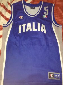 Italy 2003 – 2004 Home kit Olympic games