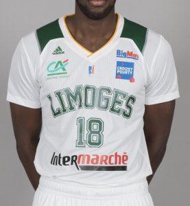 Limoges 2017 -18 Home kit