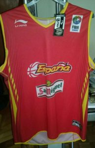 Spain 2006 – 2007 Home kit Eurobasket 2007