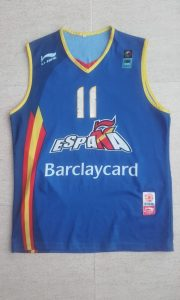 Spain 2004 – 2005 Home kit Eurobasket 2005 Serbia and Montenegro