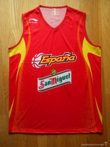 Spain 2005 – 2006 Home kit FIBA WORLD CHAMPIONS