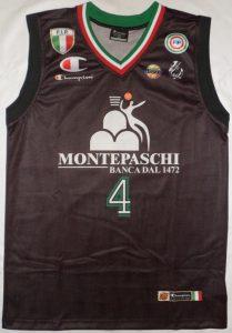Montepaschi Siena 2011 – 2012 Away kit