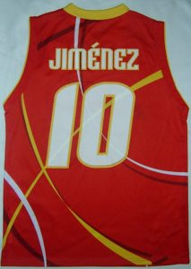 Spain 2003 – 2004 Home kit