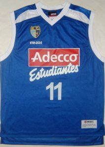 Adecco Estudiantes 2004 – 2005 home kit