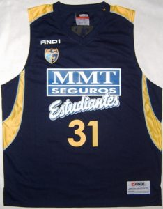 MMT Seguros Estudiantes 2008 – 2009 home jersey