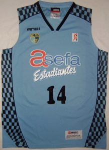 Asefa Estudiantes 2009 – 2010 home kit