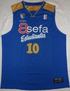 Estudiantes 2010-2011 home jersey