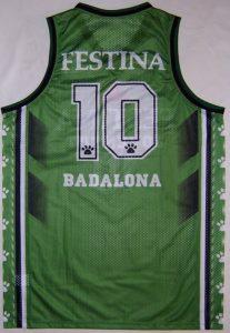Festina Joventut Badalona 1997-1998 home jersey