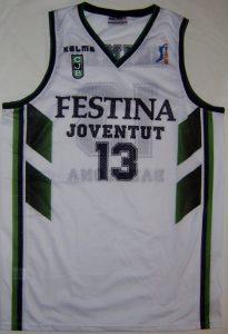 Festina Joventut Badalona 1997 – 1998 away kit