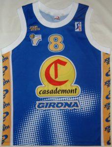 Casademont Girona 1999 – 2000 Home kit