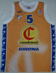 Casademont Girona 1999 – 2000 away kit