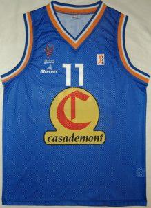 Casademont Girona 2003 – 2004 home kit