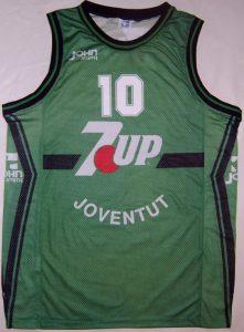 7up Joventut Badalona 1993 – 1994 Home kit european champions