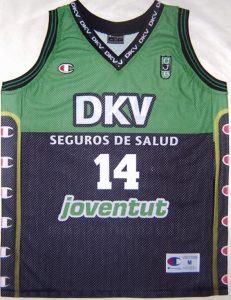 Joventut Badalona 2002 – 2003 Home jersey