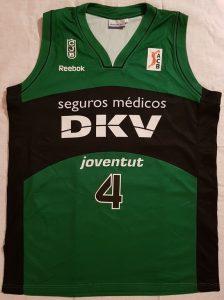 DKV Joventut Badalona 2009 -2010 Home kit