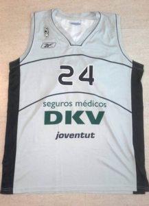 Joventut Badalona 2009 – 2010 away kit