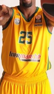 Limoges 2014 -15 alternate jersey