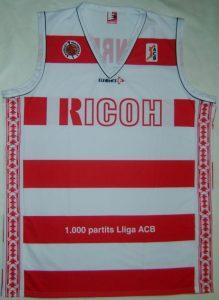 RICOH Manresa 2003 – 2004 Home kit 1000 ACB games