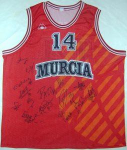 Baloncesto Murcia 1995 – 1996 Home kit
