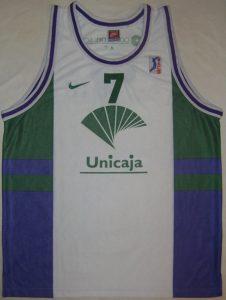 Unicaja Malaga 1998 – 1999 away kit