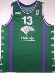 Unicaja Malaga 1999 – 2000 Home kit
