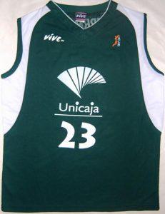 Unicaja Malaga 2004 – 2005 Home kit