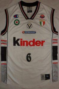 Kinder Bologna 2001 – 2002 Home kit