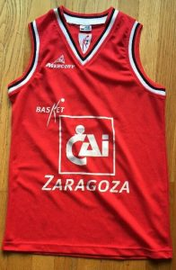 Basket Zaragoza 2004 – 2005 Home kit