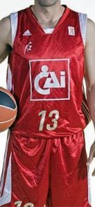 Basket Zaragoza 2008 – 2009 Home kit