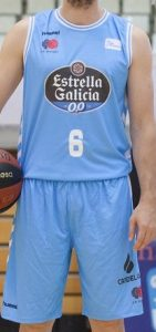 Breogán Baloncesto 2018 – 2019 Home kit