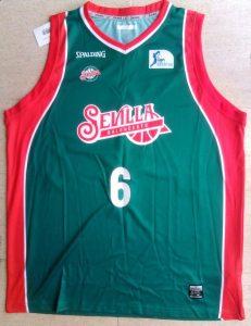 Baloncesto Sevilla 2014 – 2015 Home kit