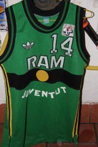 RAM Joventut Badalona 1989 – 1990 Home kit Korac cup champions