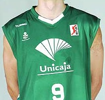 Unicaja Malaga 2006 – 2007 Home kit